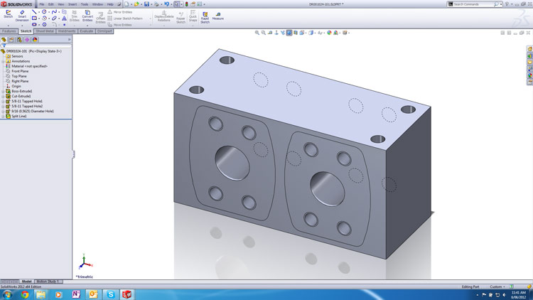 Solidworks 2012 Custom Material Tip 001